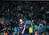 4th November 2017, Camp Nou, Barcelona, Spain; La Liga football, Barcelona versus Sevilla; Leo Messi
