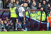 12th September 2017, Villa Park, Birmingham, England; EFL Championship football, Aston Villa versus Middlesbrough; Adama Traoré of Middlesbrough walks off in shame after receiving a red card