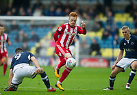 Brentford Ryan Woods during the Sky Bet Championship match between Millwall and Brentford at The Den, London, England on 10 March 2018. Photo by Andrew Aleksiejczuk / PRiME Media Images.