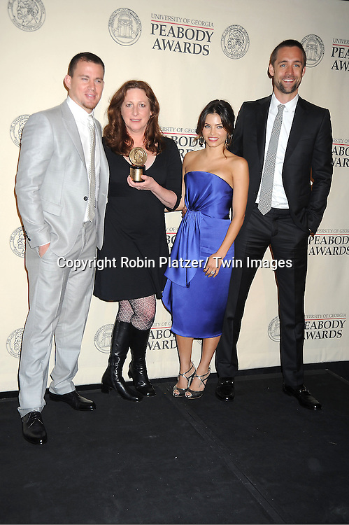 Channing Tatum, Deborah Scranton, Jenna DaWan, and Reid Caroline  attends the 71st Annual Peabody Awards at the Waldorf Astoria Hotel in New York City on May 21, 2012.