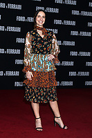 """LOS ANGELES - NOV 4:  Carla Baratta at the """"Ford v Ferrari"""" Premiere at TCL Chinese Theater IMAX on November 4, 2019 in Los Angeles, CA"""