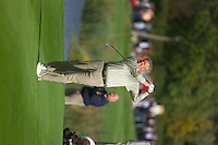 Straffin Co Kildare Ireland. K Club Ruder Cup...European Ryder Cup team member Colin Montgomerie plays his 2nd shot on the 15th fairway on the opening fourball session on the first day of the 2006 Ryder Cup, at the K Club in Straffan, Co Kildare, in the Republic of Ireland, 22 September 2006..Photo: Eoin Clarke/ Newsfile..