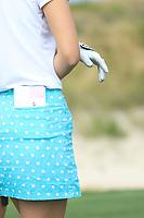 Sylvia Banon (ESP) during the first round of the Fatima Bint Mubarak Ladies Open played at Saadiyat Beach Golf Club, Abu Dhabi, UAE. 10/01/2019<br /> Picture: Golffile | Phil Inglis<br /> <br /> All photo usage must carry mandatory copyright credit (© Golffile | Phil Inglis)