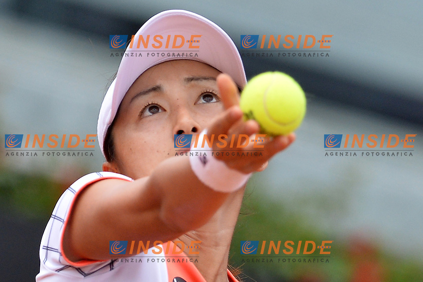 Misaki Doi (JPN)<br /> Roma 13-05-2016  Foro Italico<br /> Internazionali BNL d'Italia, <br /> Tennis WTA<br /> Foto Antonietta Baldassarre / Insidefoto