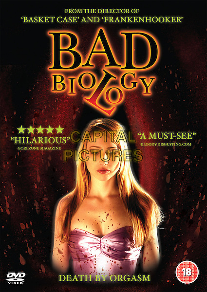 POSTER ART.in Bad Biology.*Filmstill - Editorial Use Only*.CAP/PLF.Supplied by Capital Pictures.