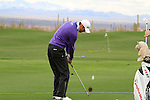 Martin Kaymer (GER) on the practice range before the start of Finals Day 5 of the Accenture Match Play Championship from The Ritz-Carlton Golf Club, Dove Mountain, Sunday 27th February 2011. (Photo Eoin Clarke/golffile.ie)