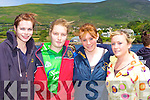 Enjoying themselves at the Caherciveen Regatta on Sunday was l-r: Sarah Wharton, Caroline Moriarty, Anne Marie O'Sullivan and Katie O'Connell    Copyright Kerry's Eye 2008