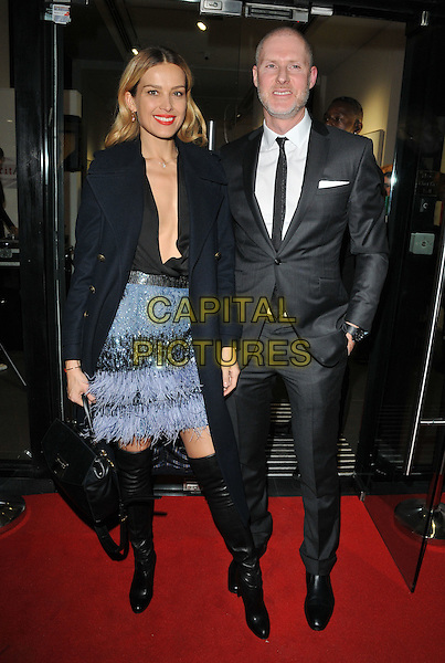 Petra Nemcova and Jean-David Malat at the Jean-David Malat: BritARTnia private view, Opera Gallery, New Bond Street, London, England, UK, on Tuesday 22 November 2016. <br /> CAP/CAN<br /> &copy;CAN/Capital Pictures