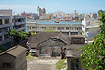 The Rear Of The Consular Office In Kaohsiung (Takow), Taiwan, From The Steps Leading Up To The Consul's Residence.