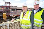 Pat Duggan, Duggan Developments, Killarney, oversees the Pennys development on High Street, Killarney with his son Con...