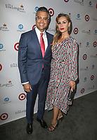 BEVERLY HILLS, CA - OCTOBER 12: Jaime Camil and Heidi Balvanera at the Eva Longoria Foundation Gala at The Four Seasons Beverly Hills in Beverly Hills, California on October 12, 2017. Credit: Faye Sadou/MediaPunch
