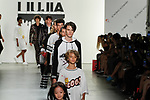 "Models walk runway at the close of the Jia Liu Spring Summer 2018 ""Comme Tu Es"" collection fashion show, at Skylight Clarkson Square on September 13, 2017 during NYFW: The Shows Spring Summer 2018."