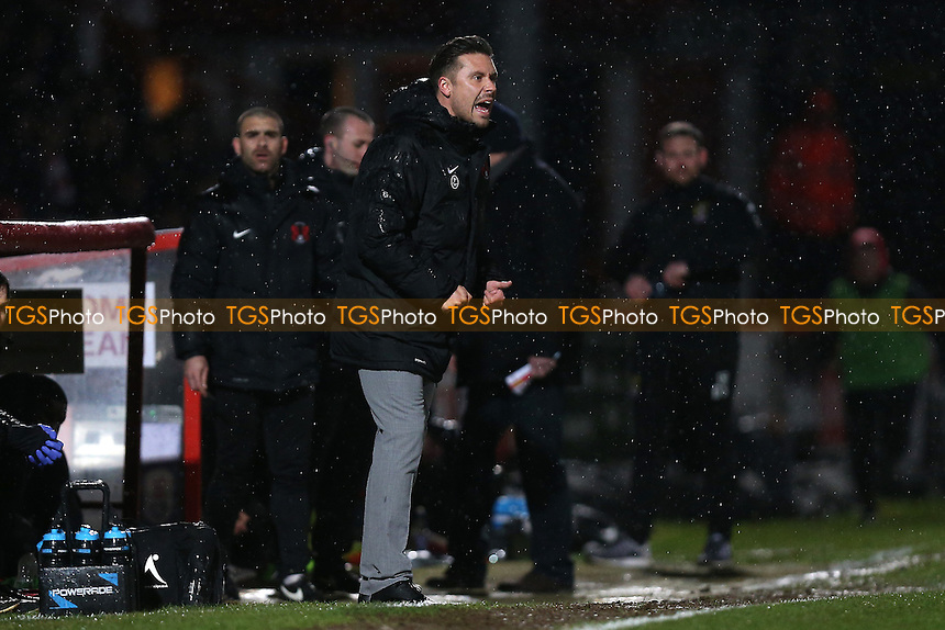 Leyton Orient manager Danny Webb during Stevenage vs Leyton Orient, Sky Bet EFL League 2 Football at the Lamex Stadium on 28th February 2017