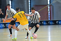 Capital v Northern. Futsal National League 2 Finals tournament at ASB Sports Centre in Wellington, New Zealand on Friday, 7 December 2018. Photo: Dave Lintott / lintottphoto.co.nz