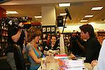 Lisa Rinna signs her new book Rinnavation for her husband Harry Hamlin as it debuts today, May 19. 2009 at Borders at Columbus Circle, New York City, New York. (Photo by Sue Coflin/Max Photos)