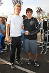 PACOIMA, CA. - October 10: Trevor Donovan and Matt Lanter arrive at The 2009 American Dream Walk To Benefit Habitat For Humanity at Lowe's Home Improvement on October 10, 2009 in Pacoima, California.