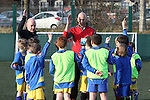 McDonalds Football<br /> Ryan Giggs visiting AFC Whitchurch training session.<br /> 06.03.15<br /> &copy;Steve Pope - SPORTINGWALES