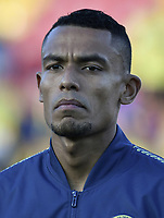 BOGOTA - COLOMBIA, 03-06-2019: William Tesillo jugador de Colombia previo al partido amistoso entre Colombia y Panamá jugado en el estadio El Campín en Bogotá, Colombia. / William Tesillo player of Colombia prior a friendly match between Colombia and Panama played at Estadio El Campin in Bogota, Colombia. Photo: VizzorImage/ Gabriel Aponte / Staff