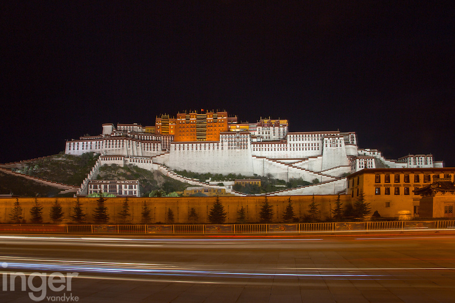 Potala in Lhasa, Tibet
