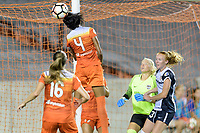 Houston, TX - Saturday July 15, 2017: Bruna Benites during a regular season National Women's Soccer League (NWSL) match between the Houston Dash and the Washington Spirit at BBVA Compass Stadium.