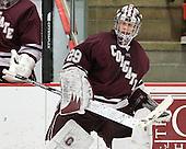 Eric Mihalik (Colgate - 29) - The Harvard University Crimson defeated the visiting Colgate University Raiders 4-2 on Saturday, November 12, 2011, at Bright Hockey Center in Cambridge, Massachusetts.