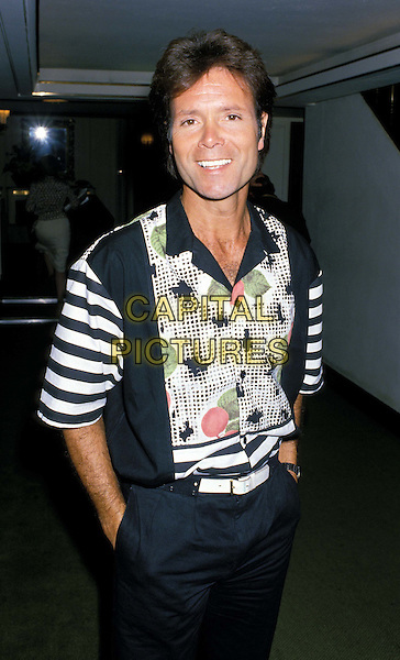 SIR CLIFF RICHARD..Ref: 026..half length, half-length, hands in pockets..www.capitalpictures.com..sales@capitalpictures.com..©Capital Pictures