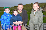 FAMILY: The Raggett family from Ardfert who attended the opening of the newly built Bana Rescue Boat House, which was officially opened on Sunday Gavin,Millie,Declan and Grainne Raggett.