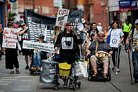 03.06.2017 - Disabled People Against Cuts Demo in Maidenhead - #TrashTheTories