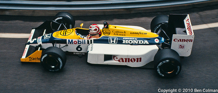Nelson Piquet, Williams FW11B, Deyroit 1987