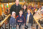 Tim, Grace, Lauren, Clodagh and Aaron O'Connor from Killarney enjoying the Outlet Centre Christmas Craft and Food Fair in Killarney last Sunday.