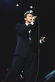 DAVID BOWIE - performing live on The Sound + Vision Tour at The Sports Arena in Los Angeles, CA USA - May 23, 1990.  Photo credit: Kevin Estrada / Iconicpix