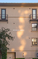Berkus Residence Hall, Sept. 19, 2013. (Photo by Marc Campos, Occidental College Photographer)