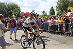 World Champion Peter Sagan (SVK) Bora-Hansgrohe arrives at sign on in Mondorf-les-Bains before the start of Stage 4 of the 104th edition of the Tour de France 2017, running 207.5km from Mondorf-les-Bains, Luxembourg to Vittel, France. 4th July 2017.<br /> Picture: Eoin Clarke | Cyclefile<br /> <br /> <br /> All photos usage must carry mandatory copyright credit (&copy; Cyclefile | Eoin Clarke)