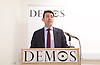 Andy Burnham MP and Luciana Berger MP speech to launch Labour&rsquo;s public health policy at Demos, London, Great Britain <br /> 15th January 2015 <br /> <br /> Andy Burnham MP <br /> shadow Labour Health Minister <br /> <br /> Luciana Berger MP <br /> <br /> <br /> <br /> Photograph by Elliott Franks <br /> Image licensed to Elliott Franks Photography Services