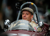 10th September 2017, Goodwood Estate, Chichester, England; Goodwood Revival Race Meeting; A Vintage Formula 1 cars driven out of the Goodwood paddock