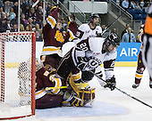 Kenny Reiter (Duluth - 35), Mike Connolly (Duluth - 22), Adam Presizniuk (Union - 29), Greg Coburn (Union - 20) - The University of Minnesota-Duluth Bulldogs defeated the Union College Dutchmen 2-0 in their NCAA East Regional Semi-Final on Friday, March 25, 2011, at Webster Bank Arena at Harbor Yard in Bridgeport, Connecticut.