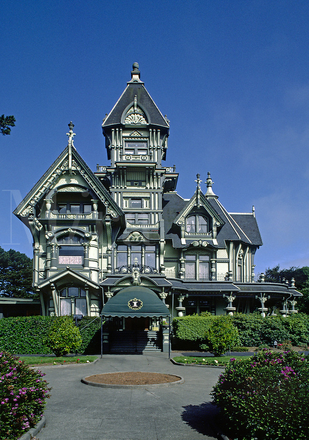 THE CARSON MANSION is the crown jewel of OLD TOWN EUREKA & is now used as a private club