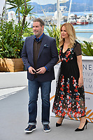 John Travolta &amp; Kelly Preston at the photocall for &quot;Gotti&quot; at the 71st Festival de Cannes, Cannes, France 15 May 2018<br /> Picture: Paul Smith/Featureflash/SilverHub 0208 004 5359 sales@silverhubmedia.com