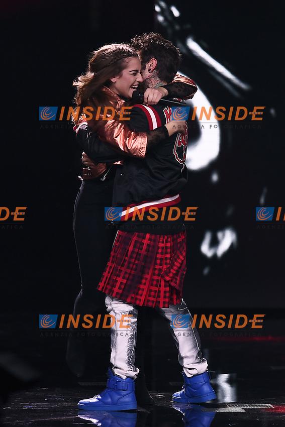 Milano 17-11-2016 - trasmissione Tv X-Factor / foto Daniele Buffa/Image/Insidefoto  <br /> nella foto: Gaia Gozzi-Fedez