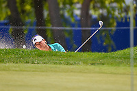 Danielle Kang (USA) hits from the trap on 9 during round 3 of the 2018 KPMG Women's PGA Championship, Kemper Lakes Golf Club, at Kildeer, Illinois, USA. 6/30/2018.<br /> Picture: Golffile | Ken Murray<br /> <br /> All photo usage must carry mandatory copyright credit (&copy; Golffile | Ken Murray)