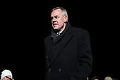 United States Secretary of the Interior Ryan Zinke participates in the 2018 National Christmas Tree lighting ceremony at the Ellipse near the White House in Washington, DC on November 28, 2018. <br /> Credit: Oliver Contreras / Pool via CNP