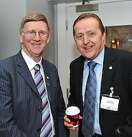 IHF- REPRO FREE HOTELIERS CONFERENCE KILLARNEY: .Donie Casssidy and Jim Murphy pictured at the IHF conference in The Malton Hotel, Killarney on Monday..Picture by Don MacMonagle...PR photo IHF