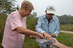 Joanne & Richard Ingwall Choosing Diamondback Terrapin To Release