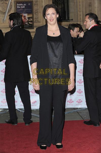 Miranda Hart .The Prince's Trust Comedy Gala, Royal Albert Hall, London, England..28th November 2012.full length black blazer top trousers .CAP/BEL.©Tom Belcher/Capital Pictures.