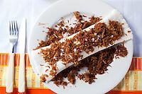 Fortaleza_CE, Brasil...Tapioca, alimento tipico da regiao, Ceara, feita no Centro das Tapioqueiras...Tapioca, typical food in Ceara, It was produced in Centro das Tapioqueiras...Foto: BRUNO MAGALHAES / NITRO