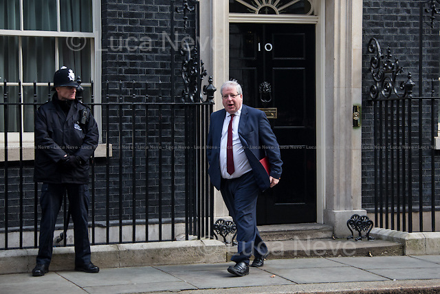 Patrick McLoughlin MP (Secretary of State for Transport).<br />