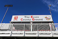 The Essex County Ground sign during Essex CCC vs Glamorgan CCC, Specsavers County Championship Division 2 Cricket at the Essex County Ground on 12th September 2016