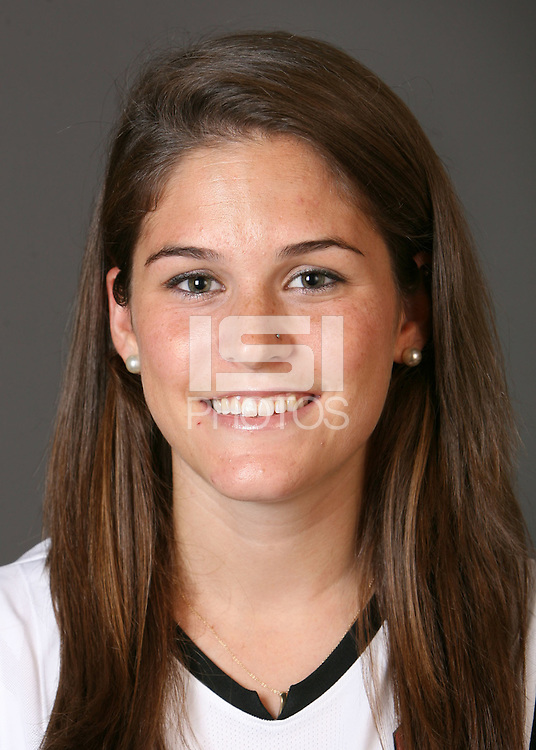 STANFORD, CA - AUGUST 14:  Hillary Braun of the Stanford Cardinal women's field hockey team poses for a headshot on August 14, 2008 in Stanford, California.