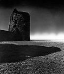Flint Castle, 1940s