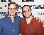 Davis McCallum and Samuel D. Hunter attend the 'Pocatello' Meet & Greet at Playwrights Horizons on October 21, 2014 in New York City.